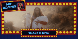 "Beyoncé stars in her latest visual album, ""Black Is King."" (Photo credit: Disney+/screencap)"