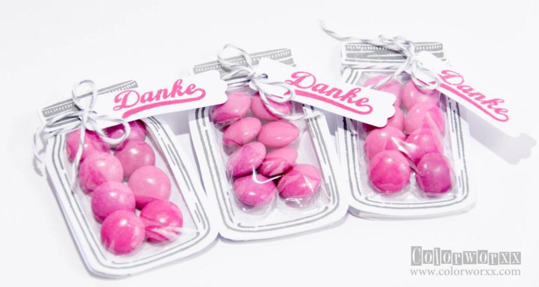 Danke-Goodies mit Stampin Up