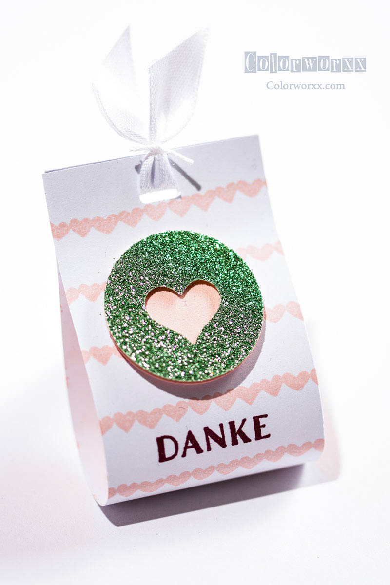 Danke-Goodie mit Stampin Up