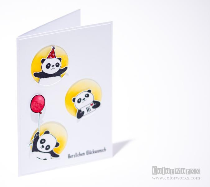 Party-Pandas Stampin Up