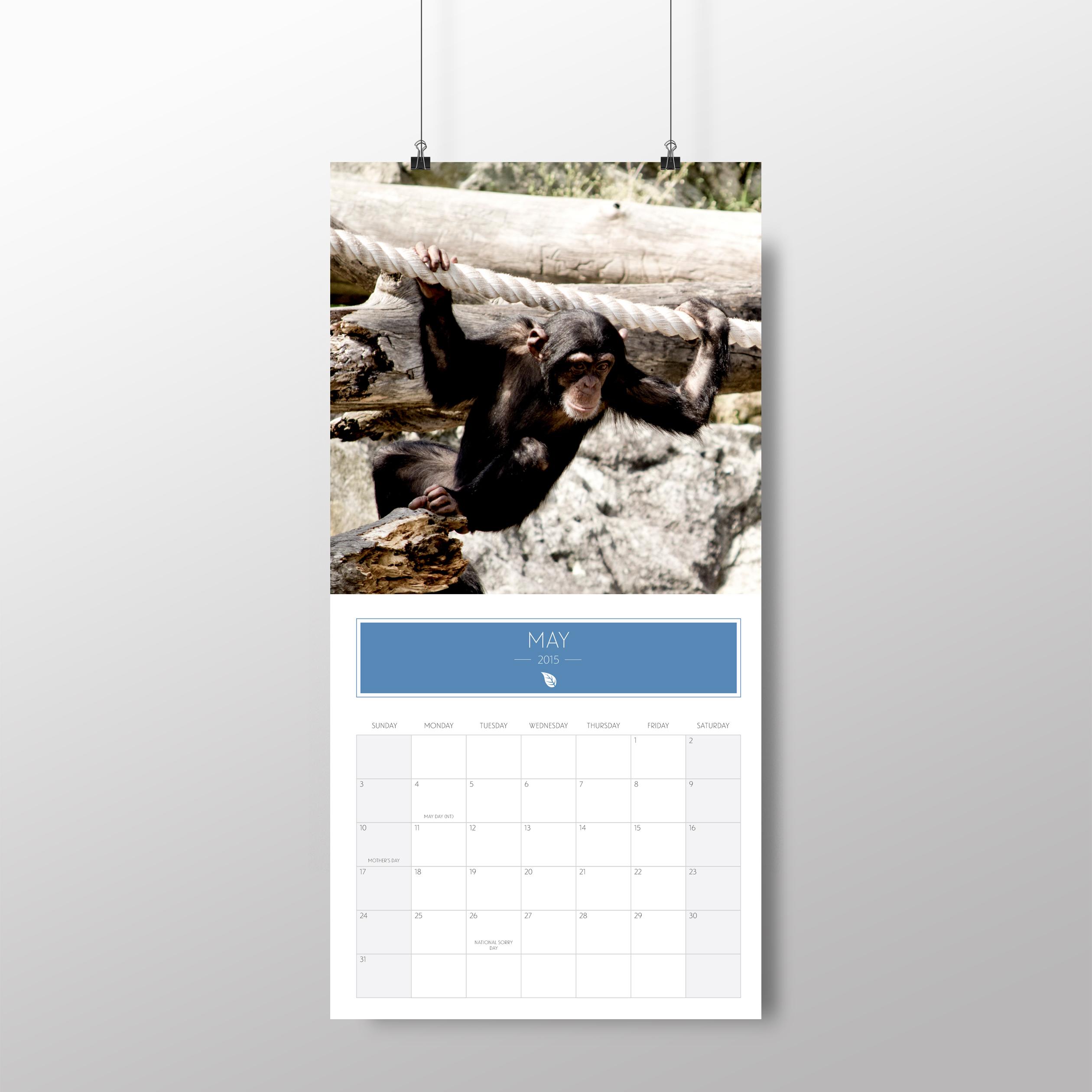 Animal calendar – May