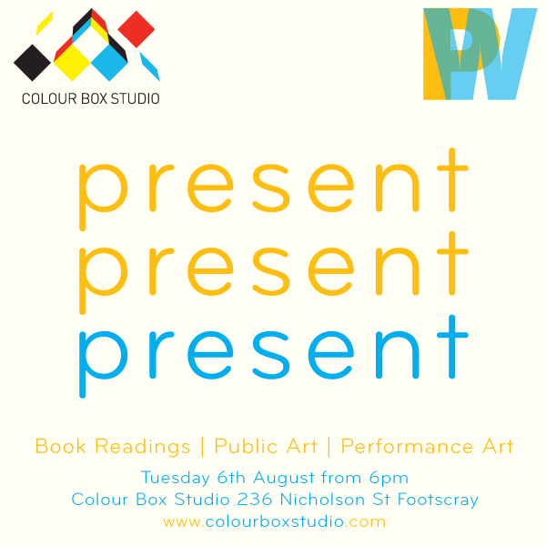 present present present event at Colour Box Studio