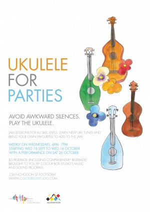 Ukulele for Parties - A Uke Jam for all Skill Levels hosted by Morgan Brady