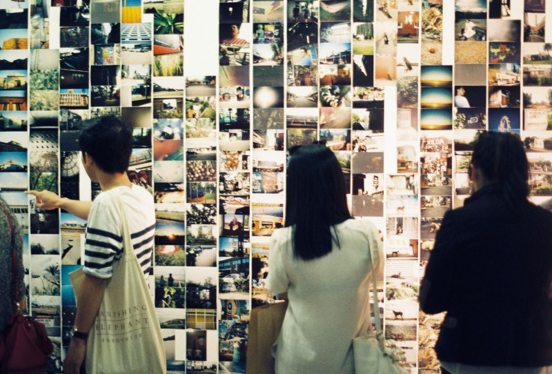 Colour Box Studio Disposable Camera Project Second Edition installation view - Image by Kristina Arnott-1