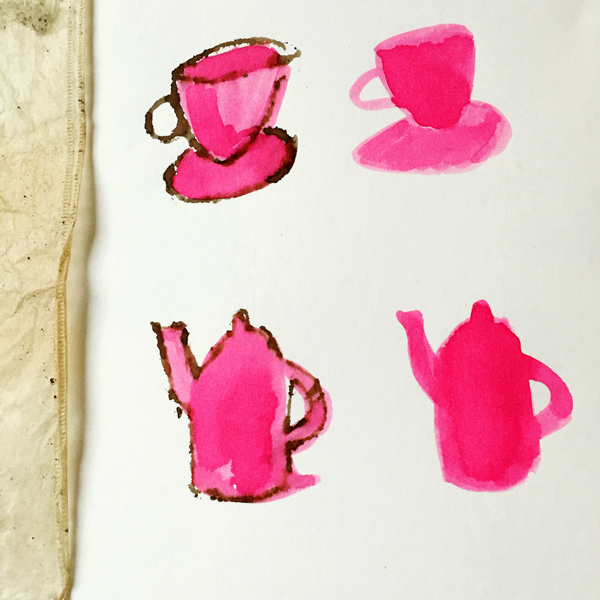Pink Tea by Robyn deBoar