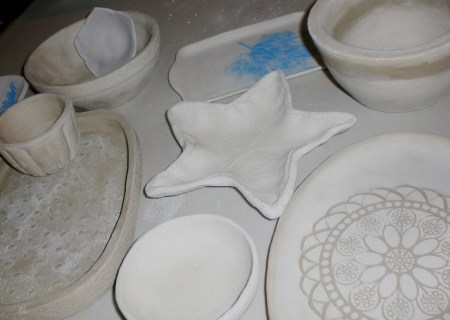 Clay making workshop with Carolyn Warren-Langford