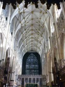 York Minster. Inside