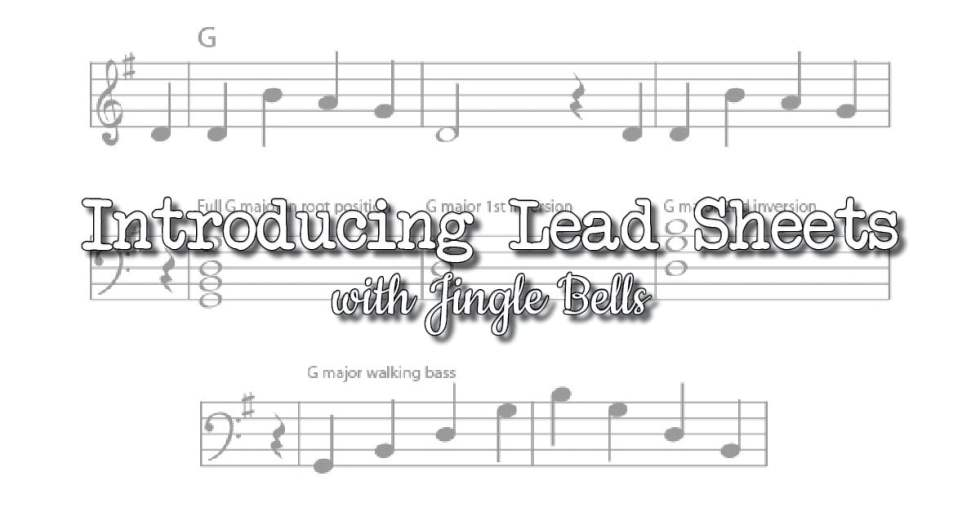 Using lead sheets