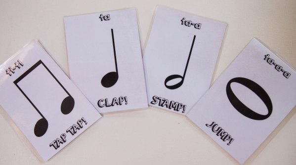Rockin' Rhythms – Introducing Note Values
