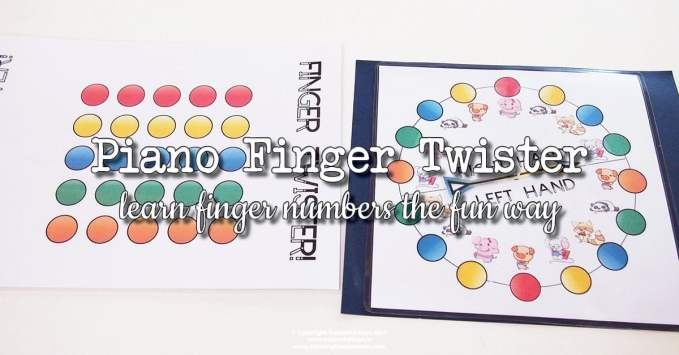 Piano Finger Number Twister
