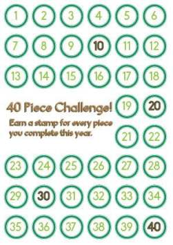 40 Piece Challenge!