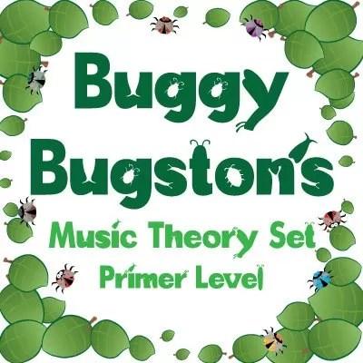 buggy bugston primer level music theory set