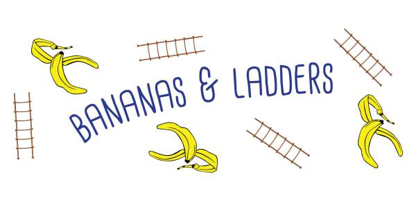 bananas and ladders