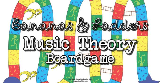 Level 1 Music Theory Game: Bananas & Ladders