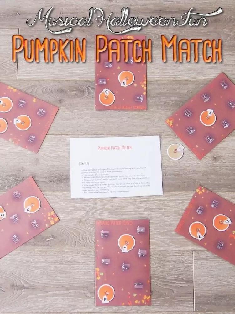 Pumpkin Patch Match Music Theory Game
