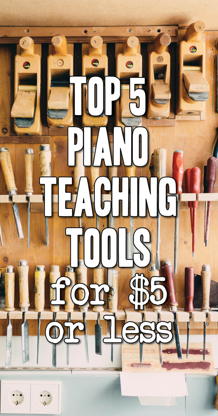 5 teaching tools under 5 dollars