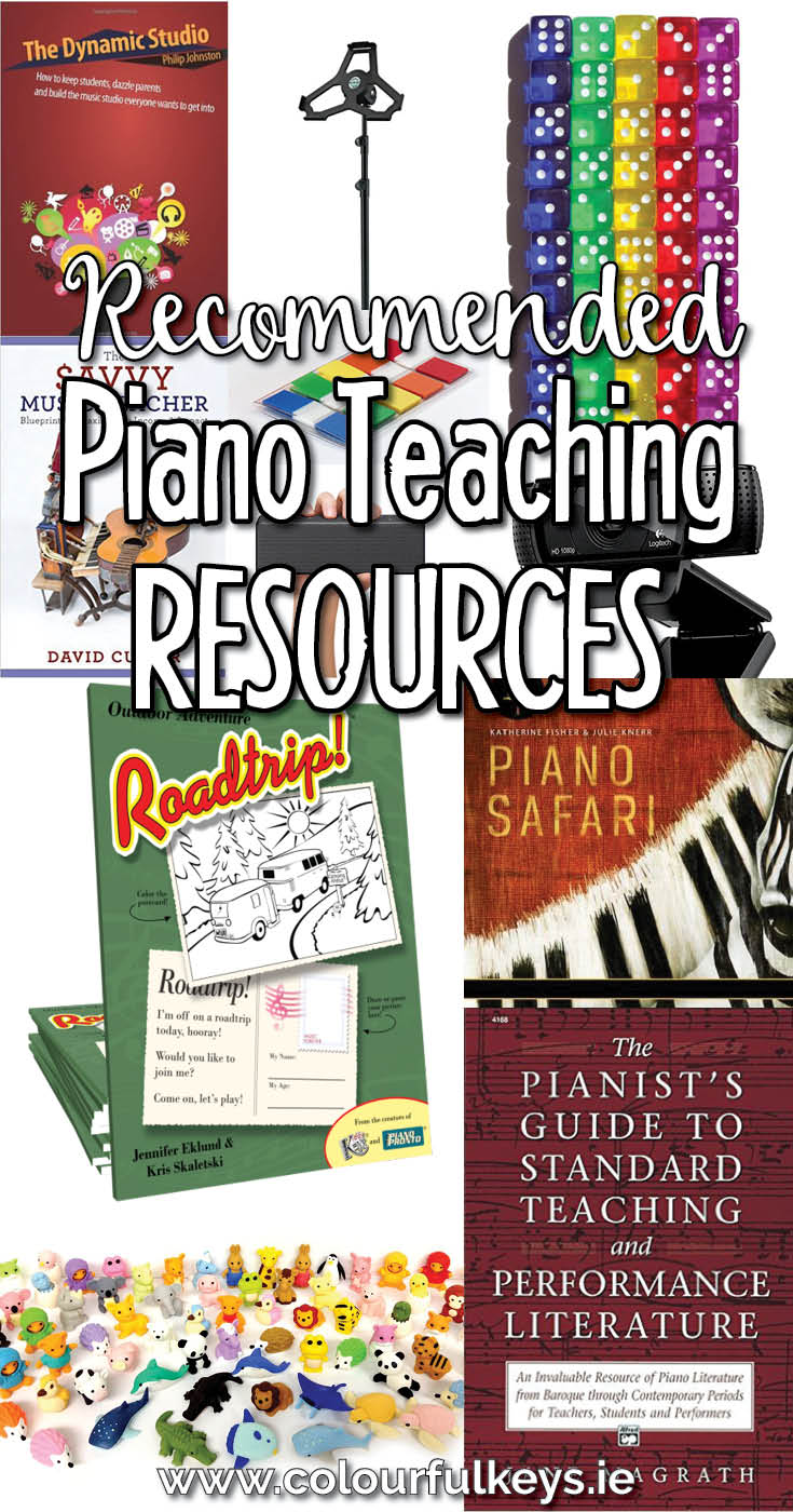Top piano teaching resources, books and tools