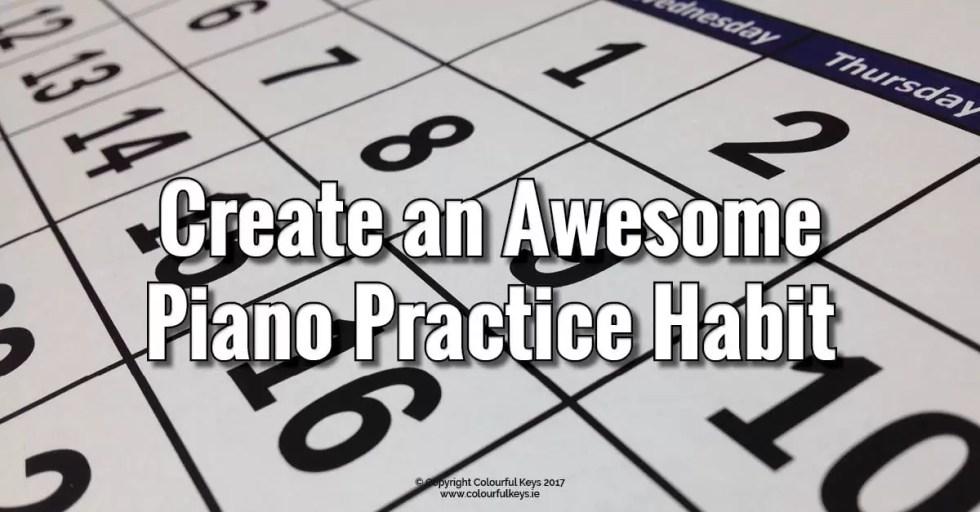 100 day piano practice challenge