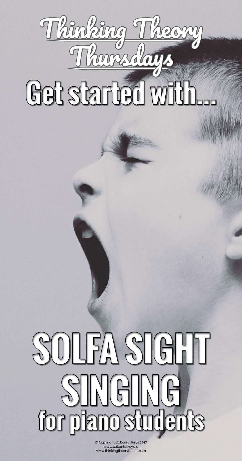 Teaching piano students to sing at sight with solfa