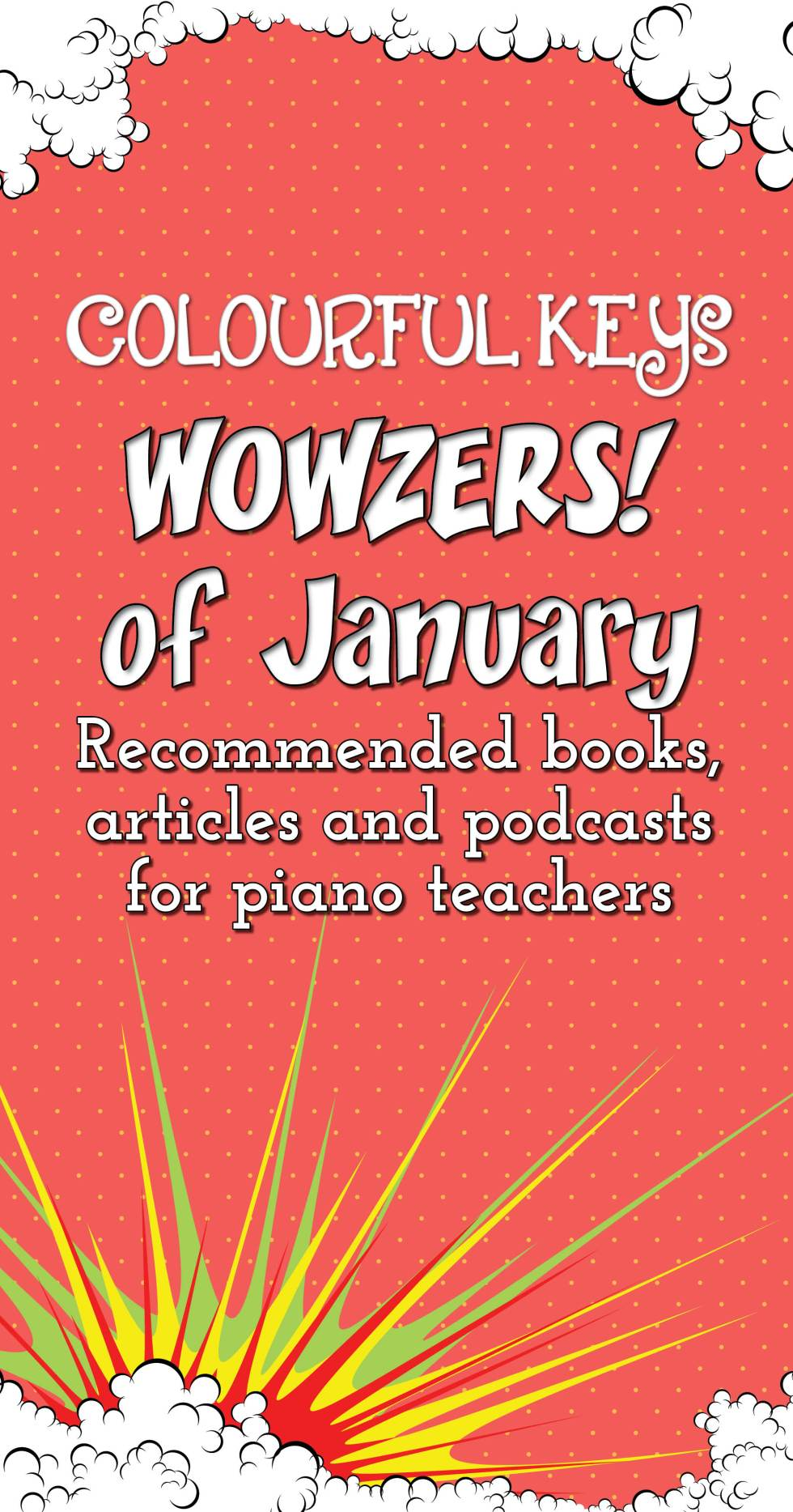 Top resources for piano teachers this month