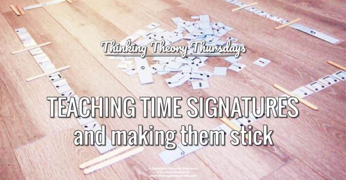 How to Teach Time Signatures (the Fun Way) in the Piano Studio