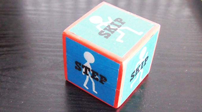 step and skip musical dice