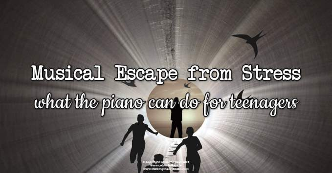Treat Your Teen Piano Students to a Musical Escape