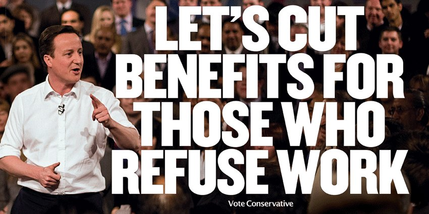 NASTY TORY POSTER