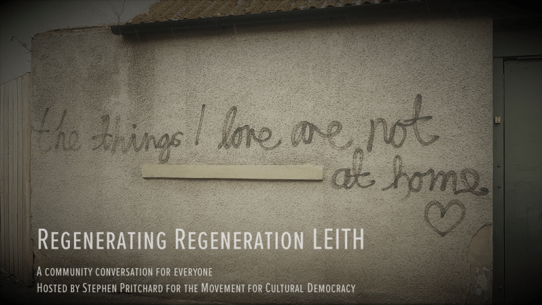REGENERATING REGENERATION LEITH (2018)