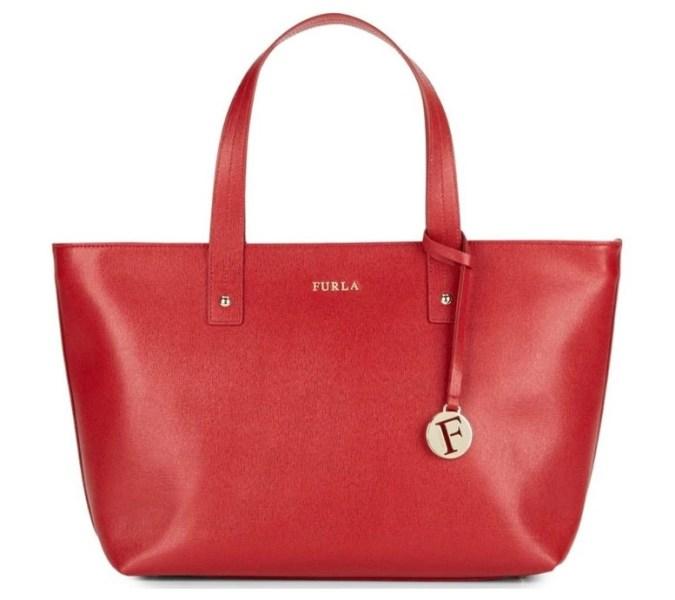 Furla Daisy Saffiano Leather Tote Bag