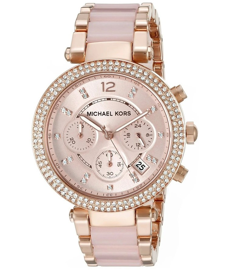 Michael Kors Women's Parker Two-Tone Watch MK5896 | Colour My Style