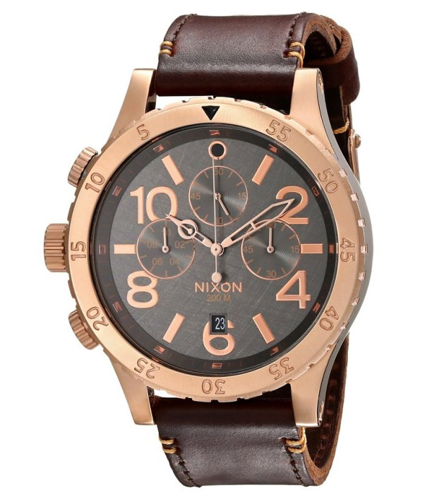 Nixon-Mens-48-20-Rose-Gold