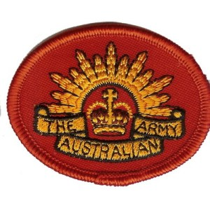 Rising Sun patch - Red