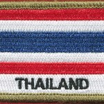 Thailand patch - (Polyester)