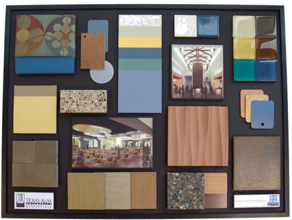 About The Work Of Interior Designers Colours Amp Materials