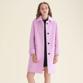 Manteau Maje rose