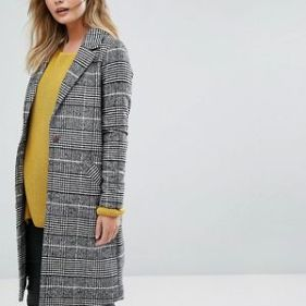 manteau carreau river island2