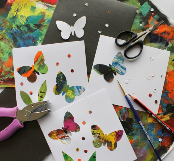 Butterfly Card Making