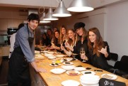 Sushi cooking show