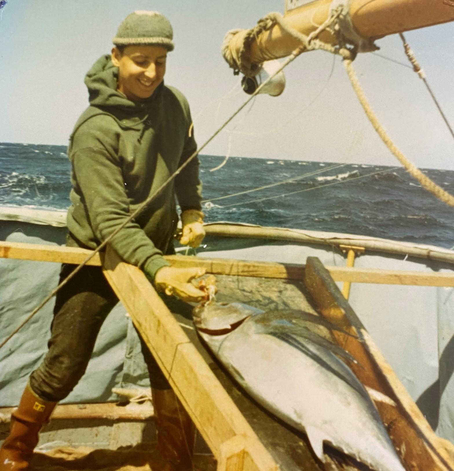 My first tuna trip