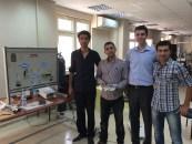 From left to right: Bilal Özen, Tarık Özbilgin, Özgür Çolpan, and Enes Yeğin