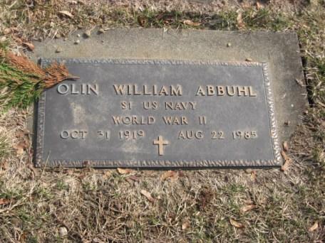 Abbuhl Olin Jr WW2 East ave