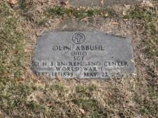 Abbuhl Olin WW1 East ave
