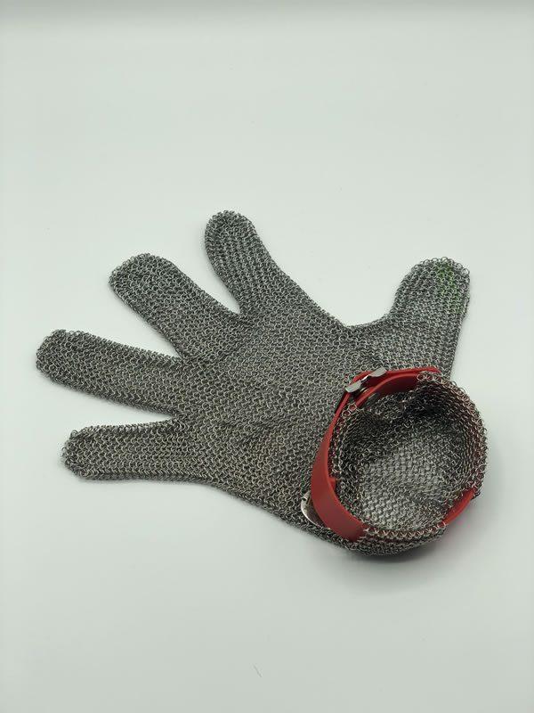 Guanto antitaglio inox taglia M