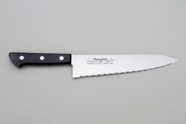 Chef con lama seghettata cm. 21