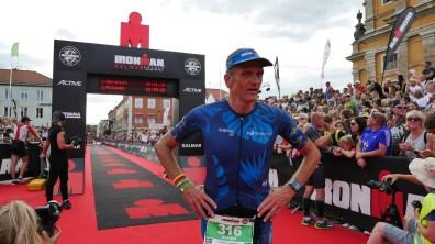 Härlig målgång - Ironman Kalmar
