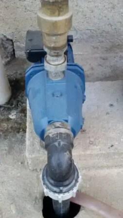 Impinato di irrigazione-pompa idraulica