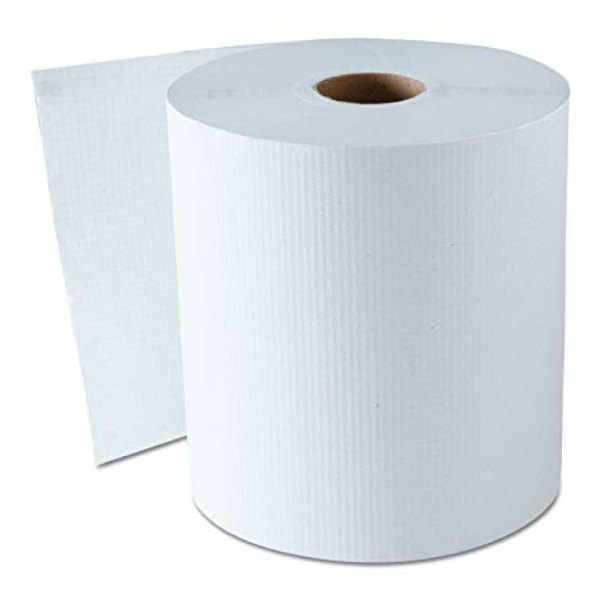 white paper towel