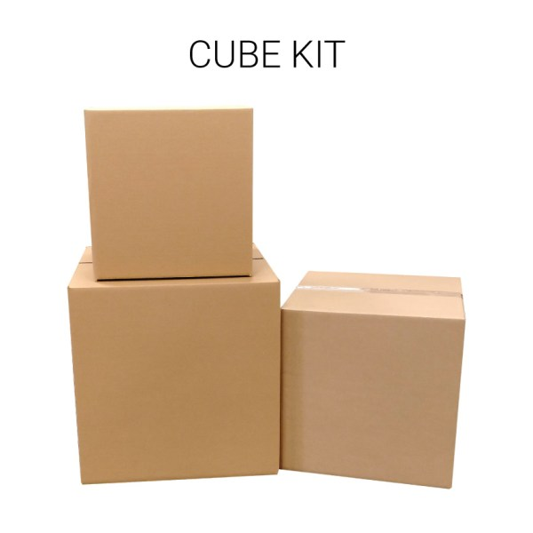 cubed boxes moving kit