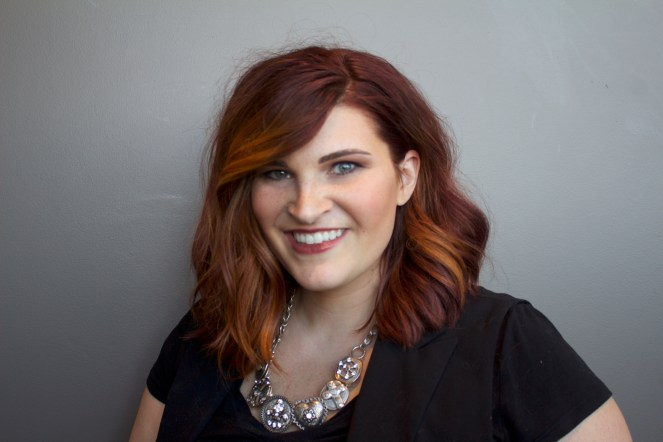 Hair stylist and color specialist, Brea Vincent.